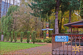 Sky Lodge Vacation Rental Packwood Mount Rainier Washington