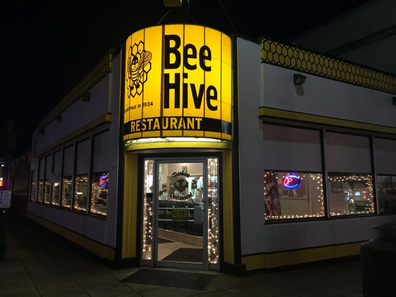 Beehive Restaurant Montesano, Washington State USA