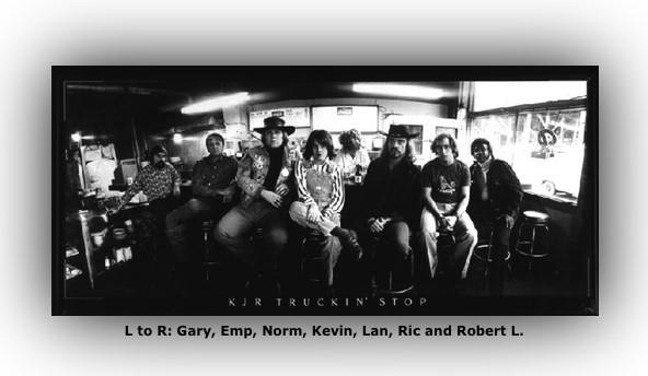 KJR Radio Seattle Channel 95 Disc Jockeys Posers 1973